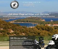 Webdesign & CMS Motorradreisen