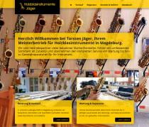 Responsive Design für Holzblasinstrumente Jäger
